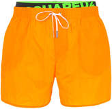 DSQUARED2 logo band swim shorts