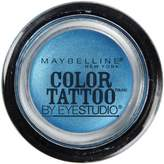 Maybelline 24 Hour Eyeshadow, Tenacious Teal, 0.14 Ounce (Pack of 2) by Maybelline