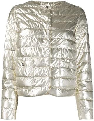 Herno shiny effect puffer jacket