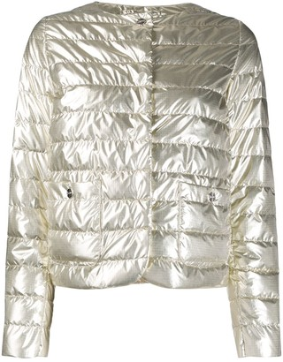 Herno Shiny Effect Puffer Jacket