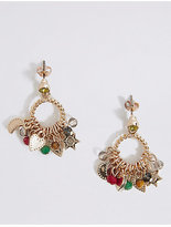 M&S Collection Cluster Drop Earrings