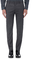 Paul Smith Men's Soho Wool-Blend Trousers-GREY