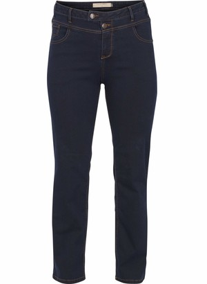 Zizzi Women's J93400A Jeans Blue (Blue denim 1052) UK 18/L32