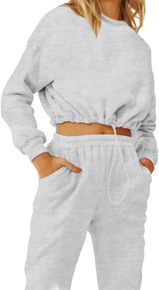 Steve Madden Hoodie And Track Pant Set White