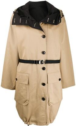 Marni Oversized Collar Hooded Jacket
