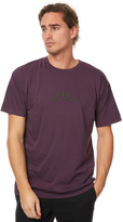 Stussy Fives Mens Tee Purple