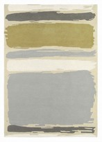 Sanderson Rugs Abstract Linden Silver Rug