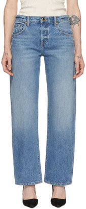 KHAITE Blue The Kerrie Jeans