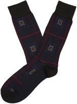 Perry Ellis Wineland Mercerized Cotton Sock