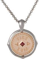 Stephen Webster Silver 0.12 Ct. Tw. Garnet Necklace