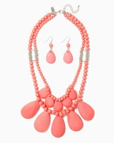 Charming charlie Dilma Layered Necklace Set