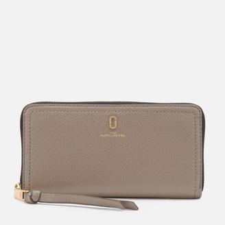 Marc Jacobs Women's Standard Continental Wallet - Cement