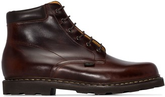 Paraboot Lace-Up Leather Boots