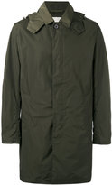 MACKINTOSH single breasted hooded coat - men - Nylon - 42