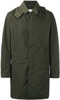 MACKINTOSH single breasted hooded coat - men - Nylon - 42