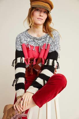 Veroalfie Pina Fringed Sweater