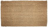 J & M Home Fashions Plain Tile Loop Woven Coco Doormat, 22-Inch by 36-Inch