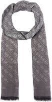 GUESS All Over Logo Ombre Long Scarf