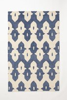 Anthropologie Tufted Keyhole Rug