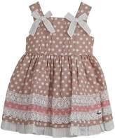 Dolce Petit Chocolate Polkadots Dress