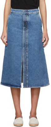 Stella McCartney Blue Vintage Denim Skirt