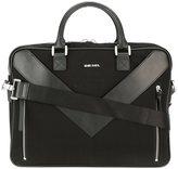 Diesel 'Mr V-Brief' briefcase - men - Polyamide/Leather - One Size