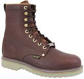 """AdTec Men's 1312 8"""" Steel Toe Work Boot"""