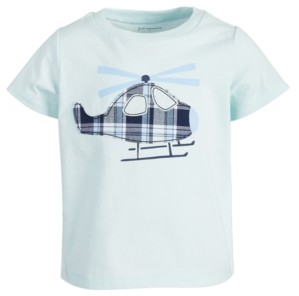 First Impressions Toddler Boys Helicopter Cotton T-Shirt, Created for Macy's