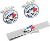 Cufflinks Inc. Men's Toronto Blue Jays Cufflinks/Money Clip Gift Set