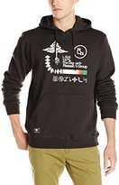 Lrg Men's Research Collection Front Archive Pullover Hoody Sweatshirt