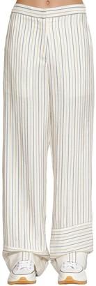 J.W.Anderson Striped Cotton Blend Pants