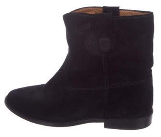 top-rated discount in stock select for best Suede Mid-Calf Boots Black Suede Mid-Calf Boots