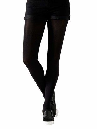 """Gipsy 1172 100 denier Luxury Opaque tights black large 5'7""""-5'10"""" hip 42""""-48"""""""