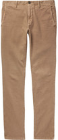 Incotex Slim-fit Stretch-cotton Panama Chinos - Beige