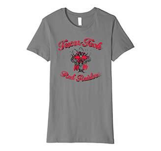 NCAA Texas Tech Red Raiders Women's T-Shirt text1008