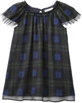 Joe Fresh Baby Girls' Plaid Ruffle Chiffon Dress