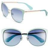 Kate Spade 'genice' 57mm Cat-Eye Sunglasses