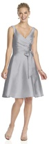 Alfred Sung D624 Bridesmaid Dress in French Gray