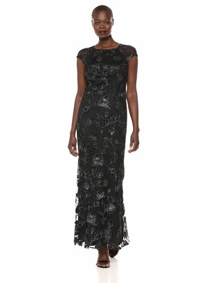 Ignite Women's Sequience Bodice Dress