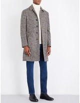 Lardini Houndsooth wool-blend coat