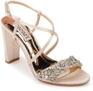 Badgley Mischka Carolyn Crystal Embellished Sandal