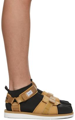 Suicoke Beige maharishi Edition Kuno Flat Sock Sandals