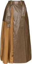 REJINA PYO high-waist pleated maxi skirt
