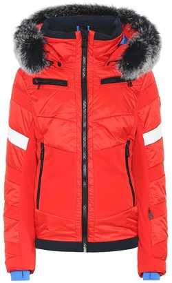 Toni Sailer Luna fur-trimmed ski jacket