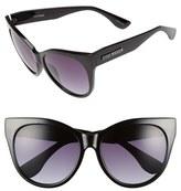 Steve Madden 58mm Oversized Cat Eye Sunglasses