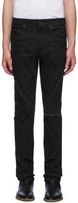 Saint Laurent Black Skinny Low Waist Jeans