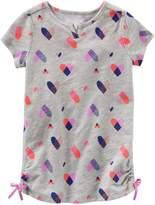 Osh Kosh Oshkosh Bgosh Girls 4-8 Heart Cinched Tunic