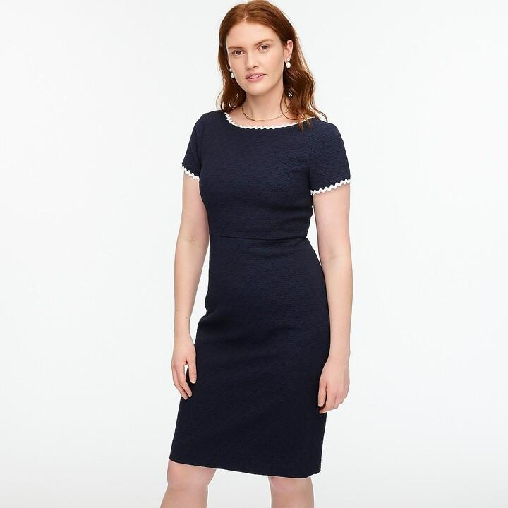 Thumbnail for your product : J.Crew Sheath dress in daisy matelassé