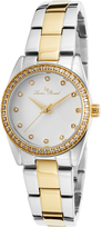 Lucien Piccard Two-Tone Crystal LaBelle Bracelet Watch - Women