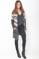 Goddis Clementine Knit Jacket in Canyon Sky